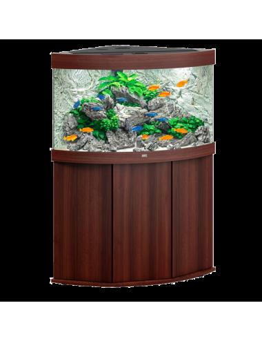 JUWEL - Trigon 190 LED Brun - Aquarium tout équipé - Livraison gratuite