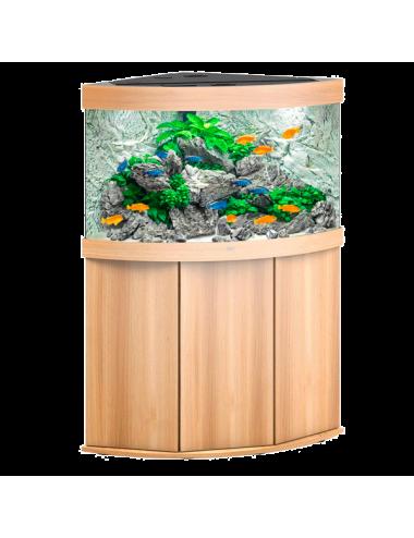 JUWEL - Trigon 190 LED Chêne Clair - Aquarium tout équipé - Livraison gratuite