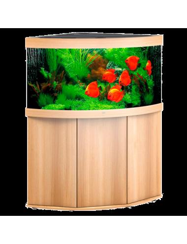 JUWEL - Trigon 350 LED Chêne Clair - Aquarium tout équipé - Livraison gratuite