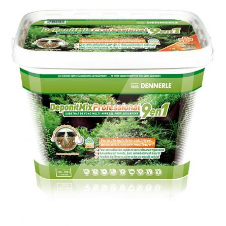DENNERLE - DeponitMix Professional 9 en 1-  4.8kg - Substrat minéral longue durée