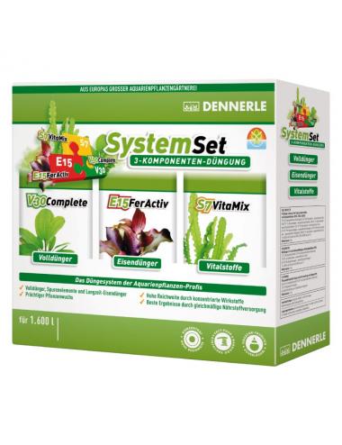 DENNERLE - Perfect Plant SystemSet - pour 1600 litres - Kit d'engrais pour plantes d'aquarium