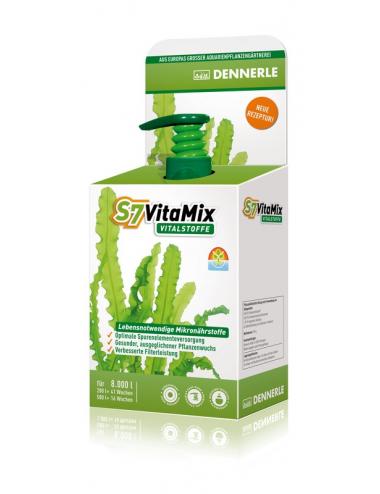 DENNERLE - S7 VitaMix - 250ml - Engrais pour plantes d'aquarium