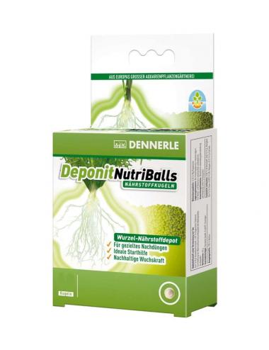 DENNERLE - Deponit NutriBalls - 4 boules - Engrais racinaire pour plantes