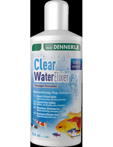 DENNERLE - Clear Water Elixier - 250ml - Conditionneur et clarificateur d'eau