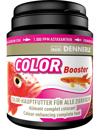 DENNERLE - Color Booster - 200ml - Aliment colorant pour poissons exotiques
