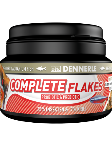 DENNERLE - Complete Flackes - 100ml - Aliment complet pour poissons