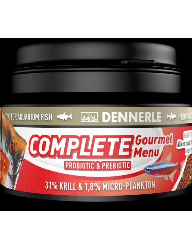 DENNERLE - Complete Groumet Menu - 100ml - Aliment complet granulés pour poissons