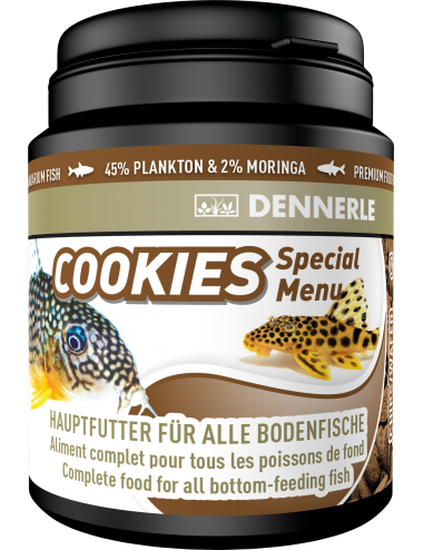 DENNERLE - Coockies Special Menu - 200ml - Aliment pour poissons de fond