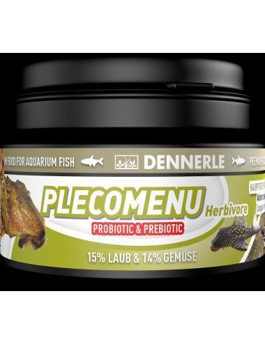 DENNERLE - PlecoMenu Herbivore - 100ml - Aliment complet pour les silures
