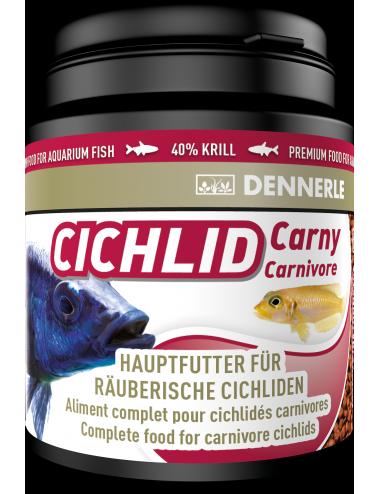 DENNERLE - Cichlid Carny - 200ml - Aliment complet pour cichlidés carnivores
