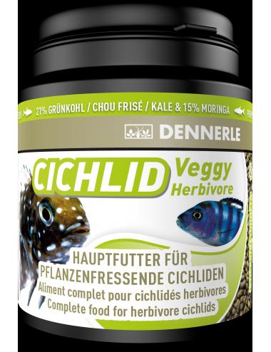 DENNERLE - Cichlid Veggy - 200ml - Aliment complet pour cichlidés carnivores