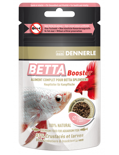 DENNERLE - Betta Booster - 30ml - Aliment complet pour Bettas