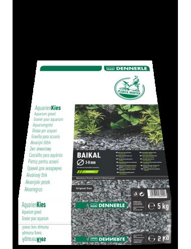 DENNERLE - Plantahunter Baikal - 5kg (10-30 mm) - Gravier plat noir