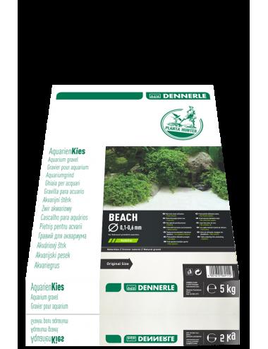 DENNERLE - Plantahunter Beach  - 5kg (0.1- 0.6mm) - Sable blanc ultra fin