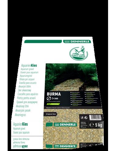 DENNERLE - Plantahunter Burma - 5kg (2- 4mm) - Sable de rivière brun