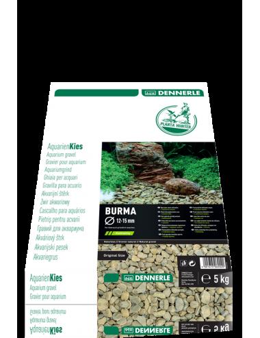 DENNERLE - Plantahunter Burma - 5kg (12- 15mm) - Sable de rivière brun