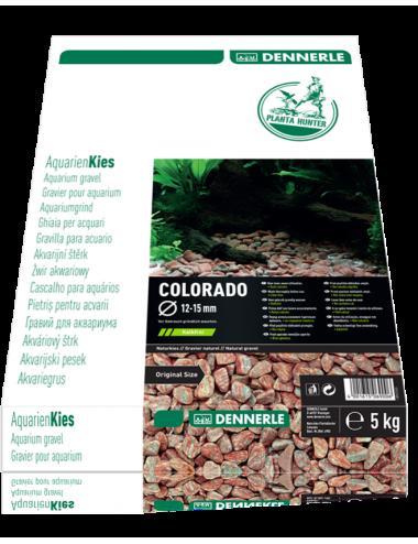 DENNERLE - Plantahunter Colorado - 5kg (12- 15mm) - Graviers tons rouges