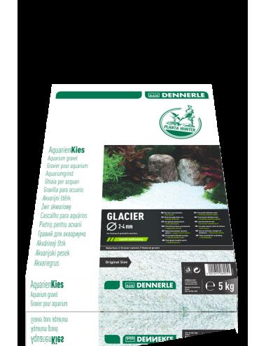 DENNERLE - Plantahunter Kies Glacier - 5kg (2- 4mm) - Galets de rivière blancs