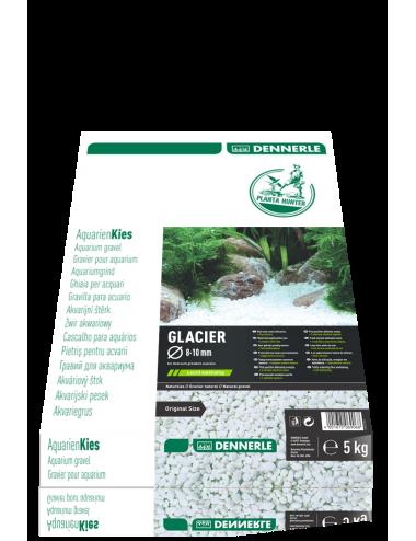 DENNERLE - Plantahunter Kies Glacier - 5kg (8- 10mm) - Galets de rivière blancs
