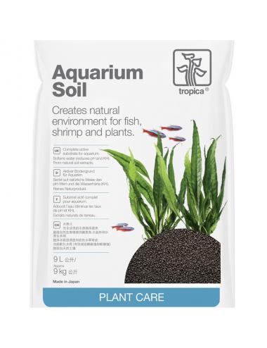TROPICA - Aquarium Soil - 9l - Substrat nutritif pour aquarium