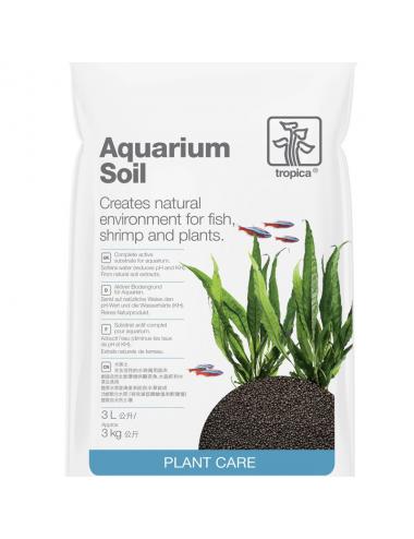 TROPICA - Aquarium Soil - 3l - Substrat nutritif pour aquarium