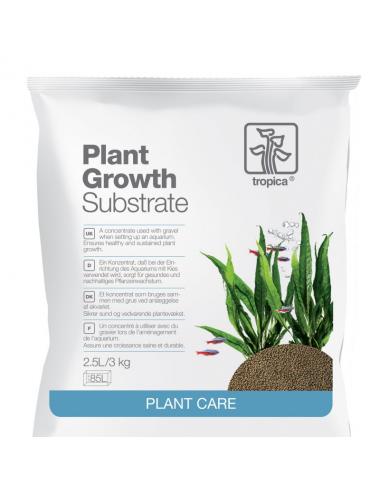 TROPICA - Plant Growth Substrate - 2.5l - Sol nutritif pour aquarium planté