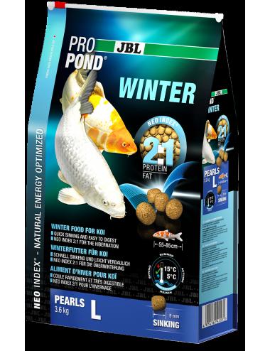 JBL - ProPond Winter L - 6l - Nourriture d'hiver pour koïs de grande taille