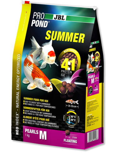 JBL -ProPond Summer M - 3l - Nourriture d'été pour koïs de petite moyenne