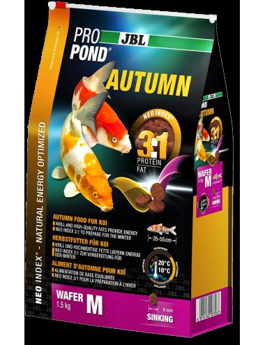 JBL - ProPond Autumn M - 3l - Aliment d'automne pour koïs de petite taille