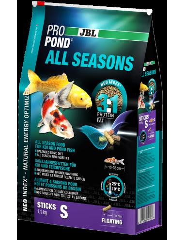 JBL - ProPond All Seasons S - 6l - Aliment toutes saisons pour koïs de petite taille
