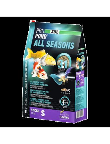 JBL - ProPond All Seasons S - 12l - Aliment toutes saisons pour koïs de petite taille
