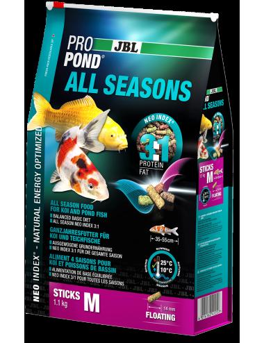 JBL - ProPond All Seasons M - 6l - Aliment toutes saisons pour koïs de moyenne taille