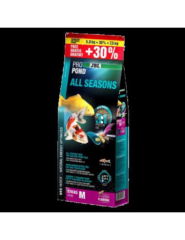 JBL - ProPond All Seasons M - 12l - Aliment toutes saisons pour koïs de moyenne taille