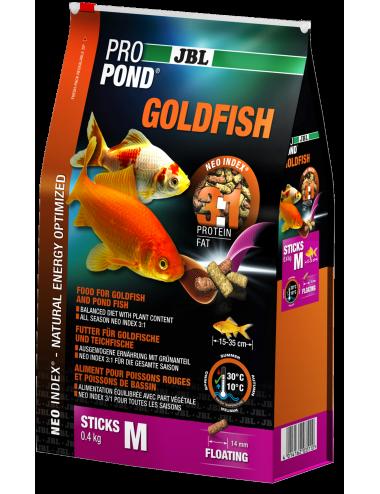 JBL - ProPond Goldfish M - 3l - Aliment pour poissons rouges moyens ou grands