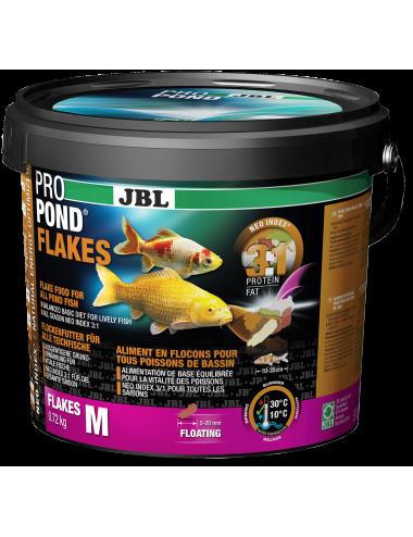 JBL - ProPond Flakes - 5.5l - Aliment en flocons pour tous poissons de bassin