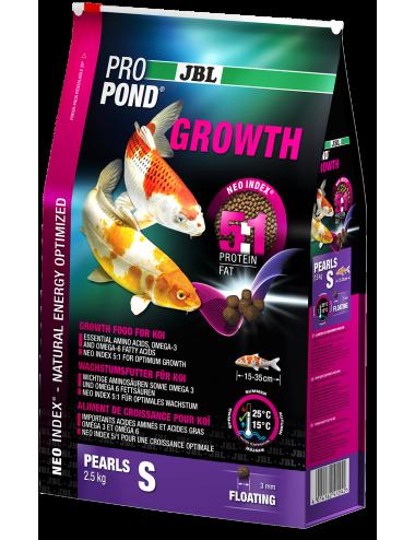 JBL - ProPond Growth S - 6l - Aliment spécial croissance pour koïs de petite taille