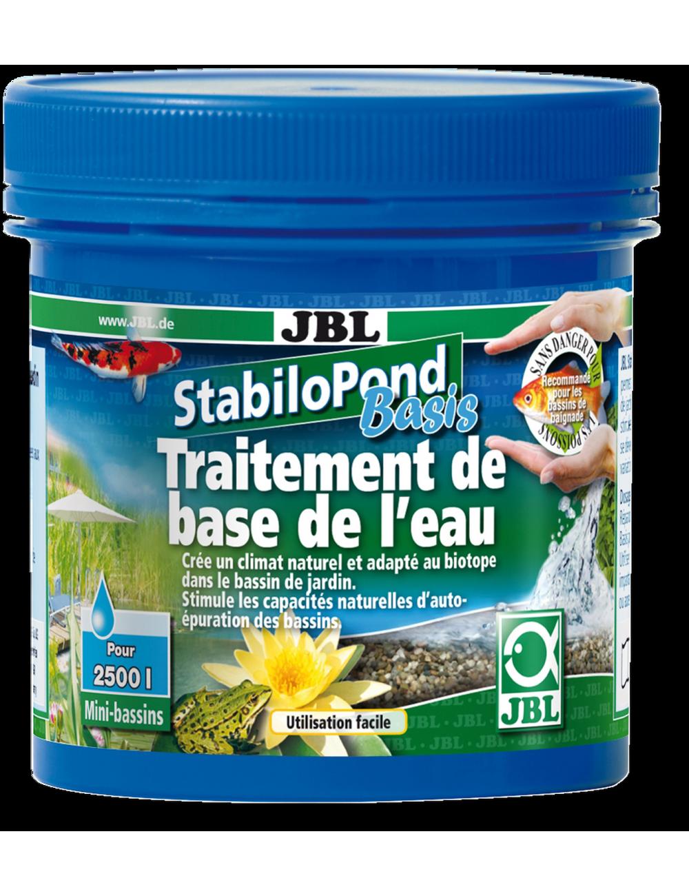JBL - StabiloPond Basis - 1kg - Produit d'entretien de base pour tous les bassins de jardin