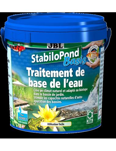 JBL - StabiloPond Basis - 2.5kg - Produit d'entretien de base pour tous les bassins de jardin