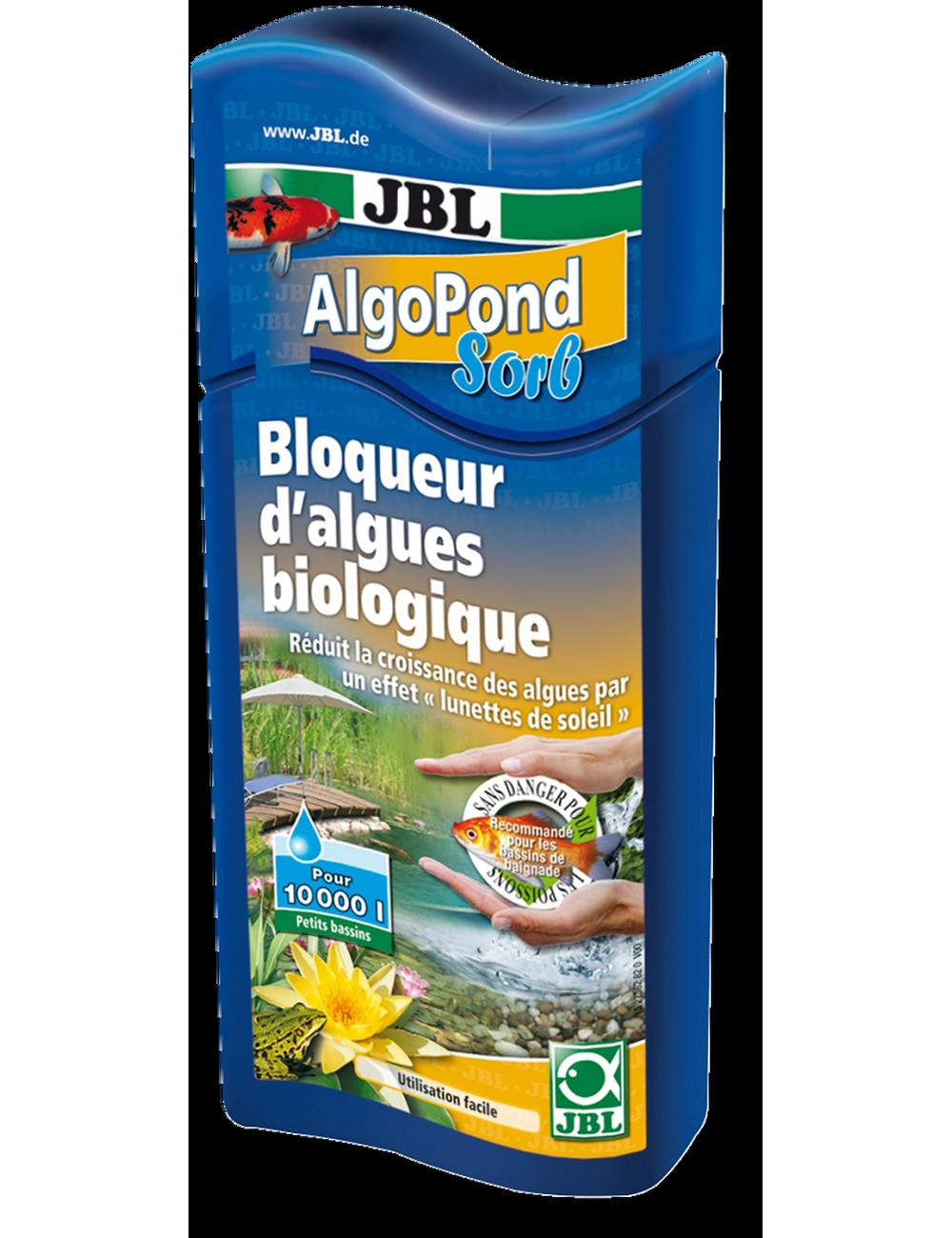 JBL - AlgoPond sorb - 500ml - Bloqueur d'algues biologique pour bassin de jardin