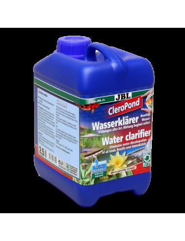 JBL - CleroPond - 2.5l - Conditionneur d'eau pour l'élimination de la turbidité de l'eau
