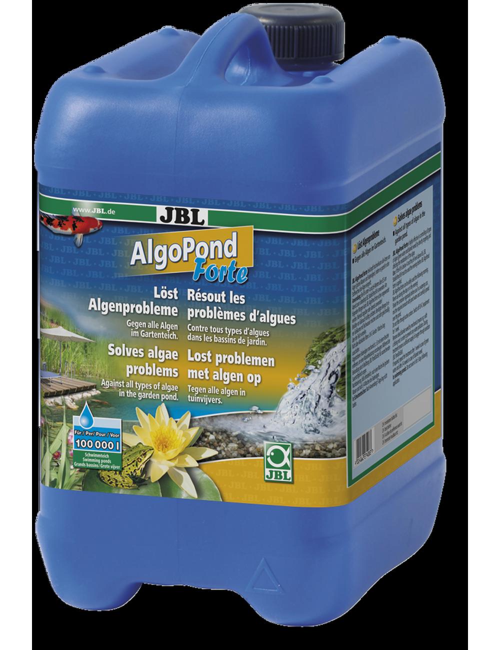 JBL - AlgoPond Forte - 5l - Conditionneur d'eau contre toutes les algues