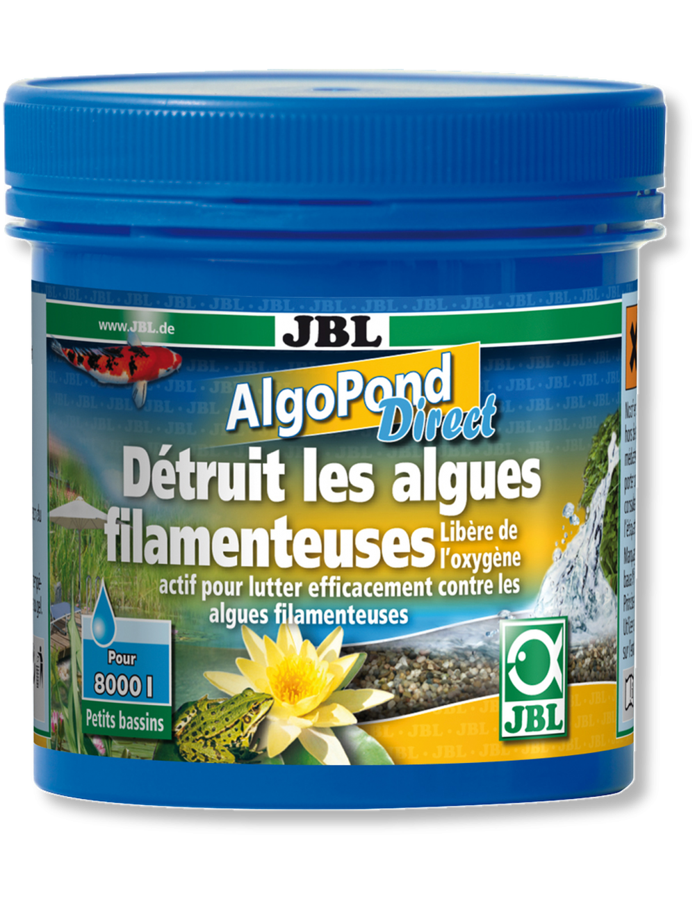 JBL - AlgoPond Direct - 500g - Anti-algues filamenteuses en bassin de jardin