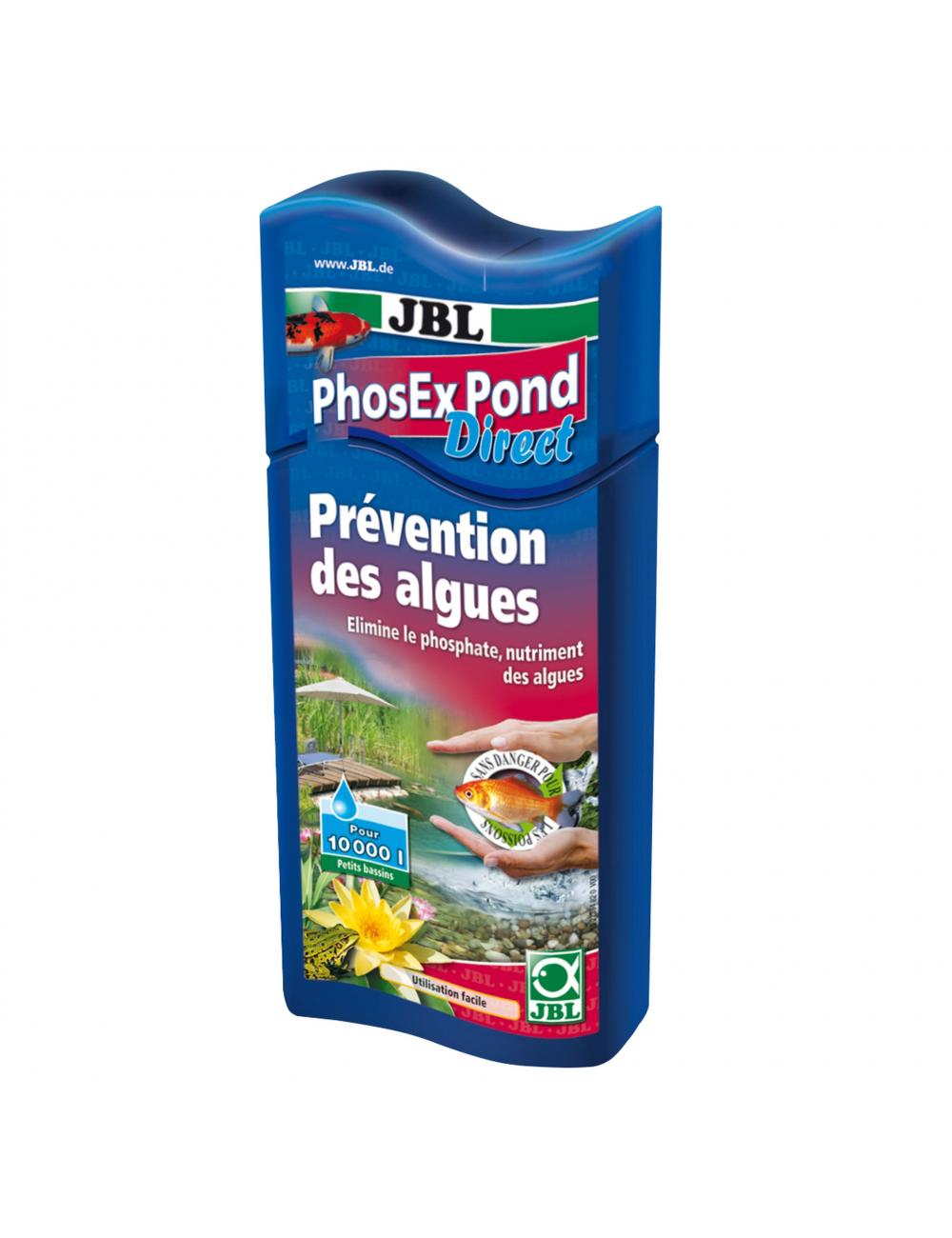 JBL - PhosEX Pond Direct - 250ml - Éliminateur de phosphates pour bassin
