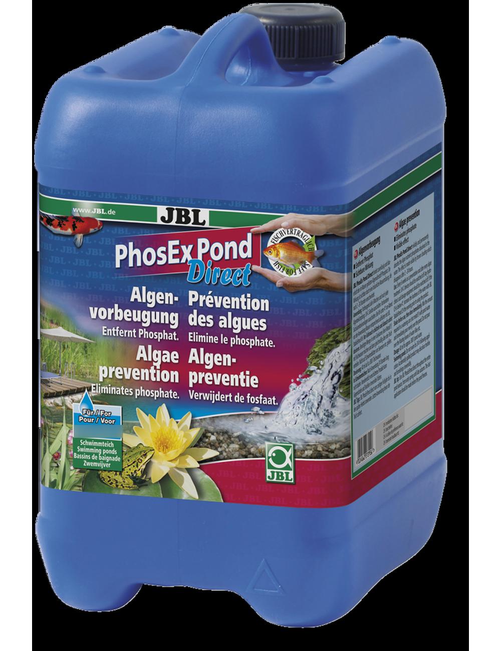 JBL - PhosEX Pond Direct - 2.5l - Éliminateur de phosphates pour bassin