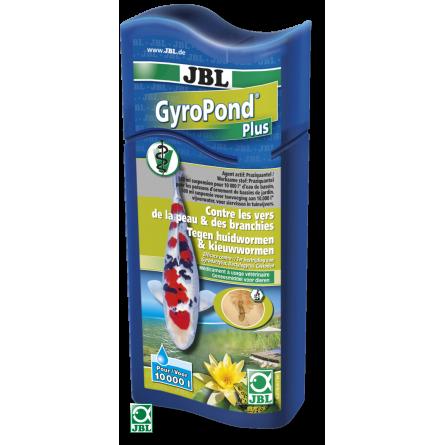 JBL - GyroPond Plus - 500ml - Médicament contre les vers de peau, vers des branchies et cestodes