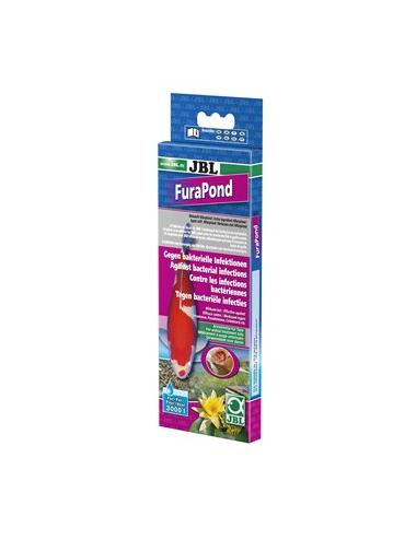 JBL - FuraPond - 24 tablettes - Médicament contre les maladies bactériennes
