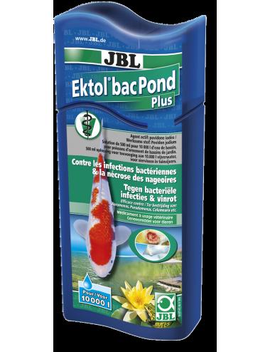 JBL - Ektol bac Pond Plus - 500ml - Médicament efficace contre les bactéries