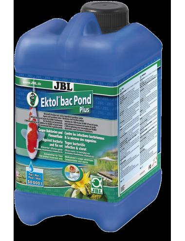 JBL - Ektol bac Pond Plus - 2.5l - Médicament efficace contre les bactéries et la nécrose des nageoires