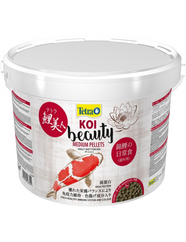 TETRA - Koi Beauty Medium - 10l - Nourriture premium pour Koïs