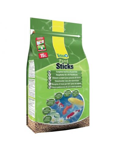 TETRA - Pond Sticks - 15l - Nourriture pour les poissons de bassins
